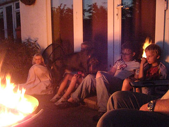 family firepit
