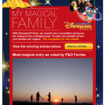 Holy Moly – I only went and won a trip to Disney!