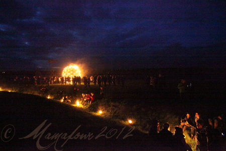 fire garden at stonehenge images